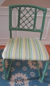 Valspar- Pine Green Oilcloth fabric - Heather Bailey - Free Spirit, Nicey Jane.