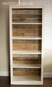 Remove flimsy backing and use pallet boards.